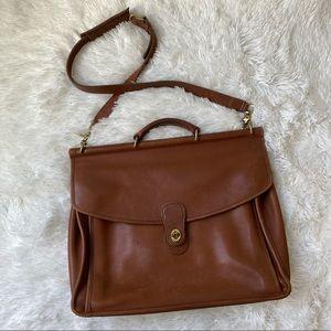 Coach Leather vintage Briefcase Laptop Bag